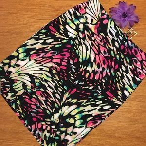 Worthington multi-colored skirt. Sz L